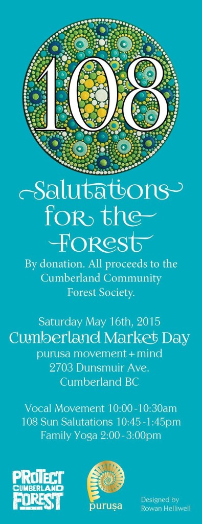 Purusa Salutations for the Forest | Currently Cumberland