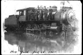 Cumberland Collieries' Railway Vancouver Island, B.C., Presentation