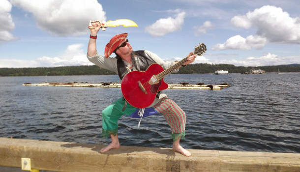 Captain Thunderpants Performs at the Park on Monday May 18th