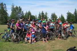 Cumberland's Passion for Biking Shared with Youth