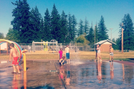 Cumberland's Water Spray Park is Open!