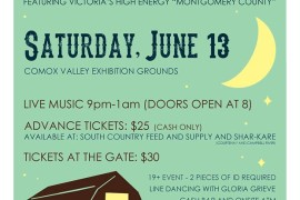 2nd Annual Comox Valley Barn Dance June 13th