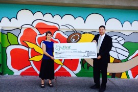 First Credit Union & Insurance award $10,000 in Community Impact Funding
