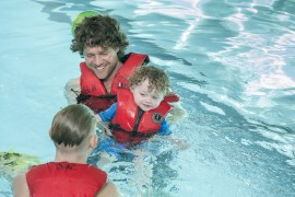 Free Swim Lessons at the Comox Valley Regional District's Sports Centre