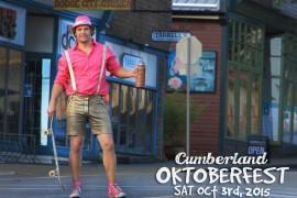 Cumberland Oktoberfest October 3rd!