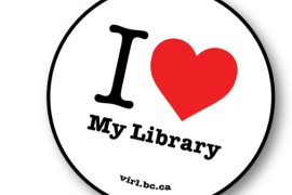 Library Shares the Love this October Library Month