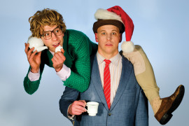Win 2 tickets to Friday's Performance of James & Jamesy Courtenay Premiere of O Christmas Tea