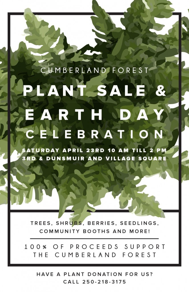 Plant Sale Poster | Currently Cumberland