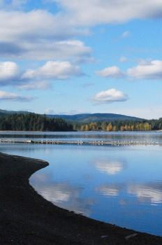 beautiful view COmox Lake | Currently Cumberland