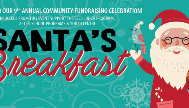 CCSS Hosts 9th Annual Santa's Breakfast Fundraiser on Sunday December 4