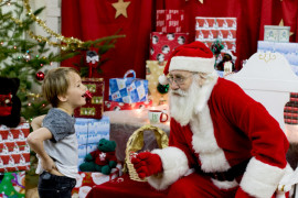 CCSS Hosts 10th Annual Santa's Breakfast Fundraiser