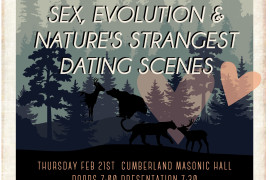 CCFS Science Pub explores sex, evolution and nature's strangest dating scenes