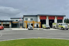 Cumberland's New Fire Hall is Open!