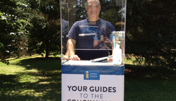 Cumberland has a New Visitor Information Booth for the Summer