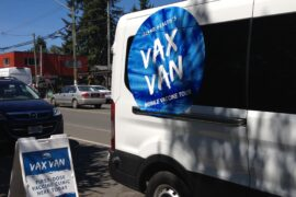 Vax Van Comes to Cumberland Village Square